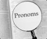 Французские притяжательные местоимения, таблица. Pronoms possessifs. Часть 10.